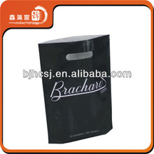 High Quality Logo Printing Plastic Bags With Die Cut