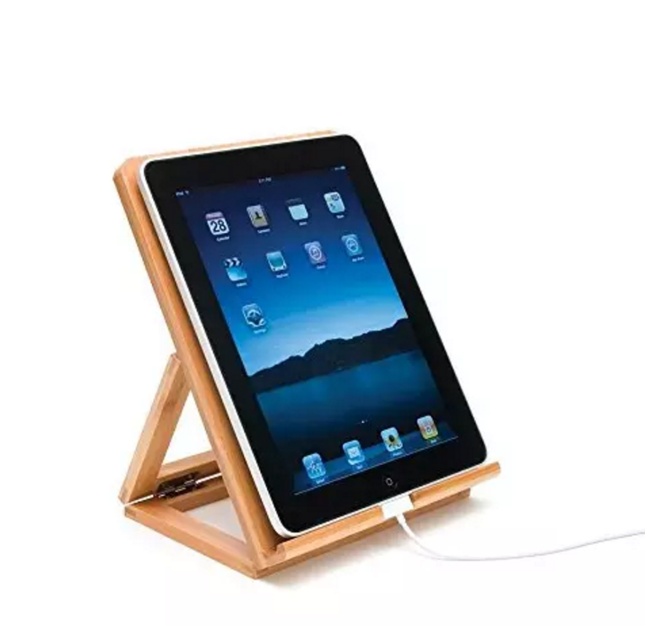 Custom Wooden Adjustable Smartphone Rack  ipad Stand
