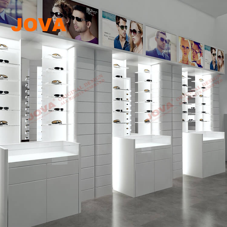 095cd76c1a Equipments For Optical Frame Stand Shop And Eyewear Store Interior Design