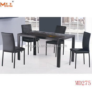 Chinese Modern Square Gl Dining Table Made In Malaysia
