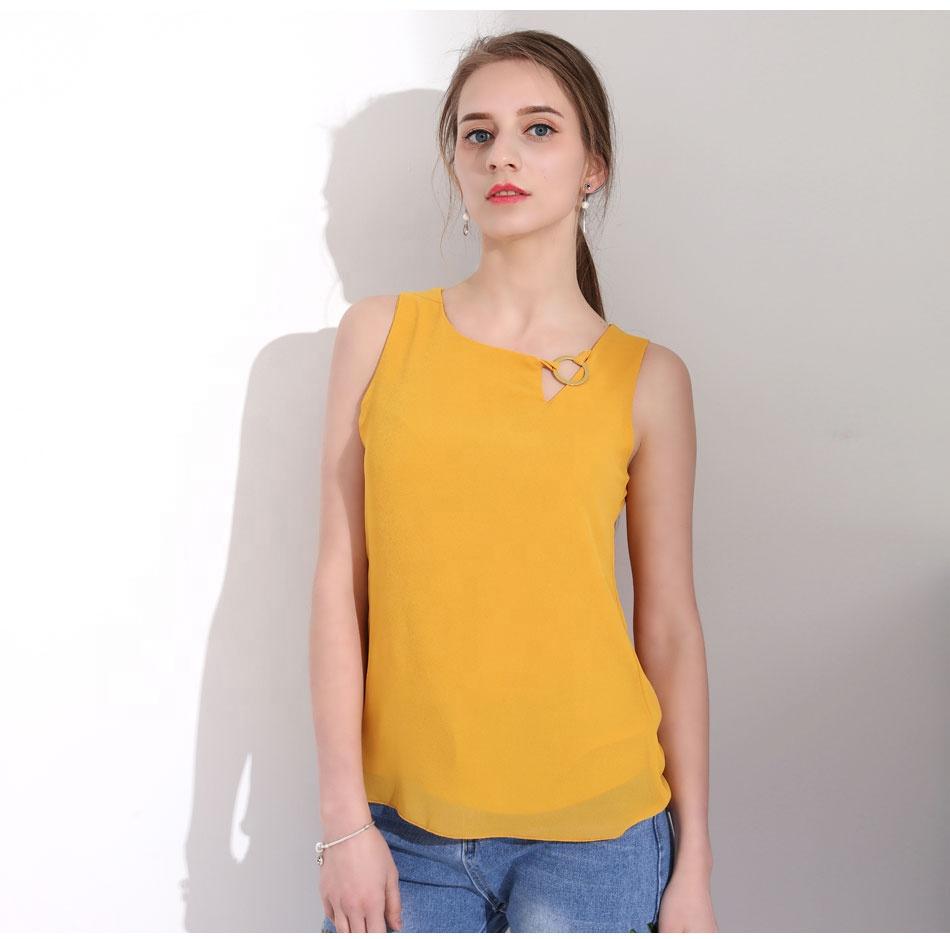 3879f52360fb Venta al por mayor modelos de blusas camiseras-Compre online los ...