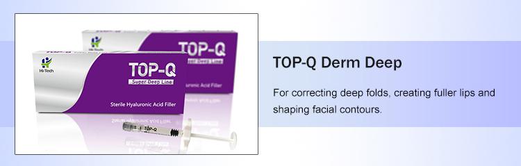 Médico maçã muscular enchimento cross vinculado ácido hialurônico gel ampola para o rosto