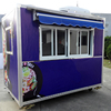 Customized food Machinery airstream trailer food truck