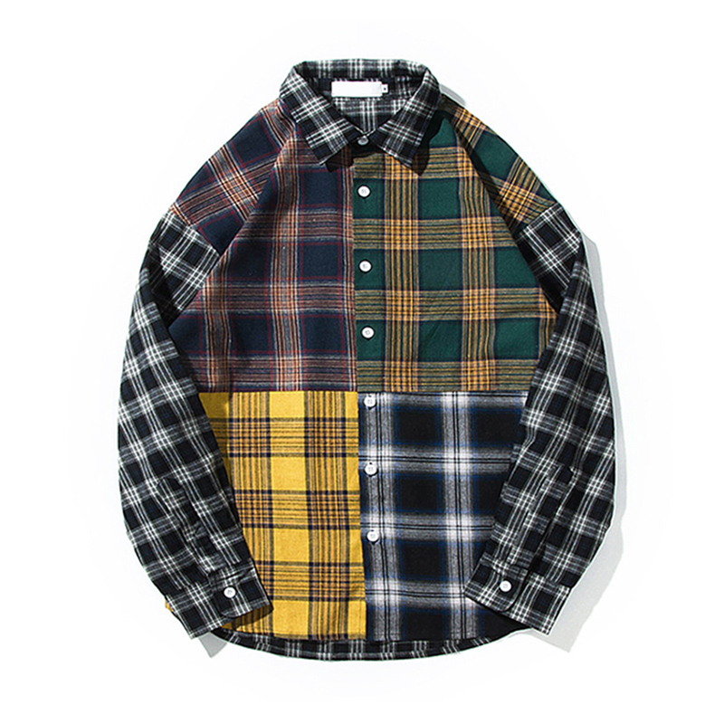 wrinkle free plaid button man dress <strong>shirts</strong>