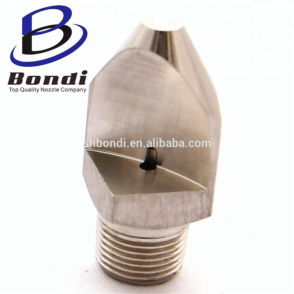 Stainless steel Narrow angle high impact Vee Jet nozzles water flat fan vee jet spray nozzle