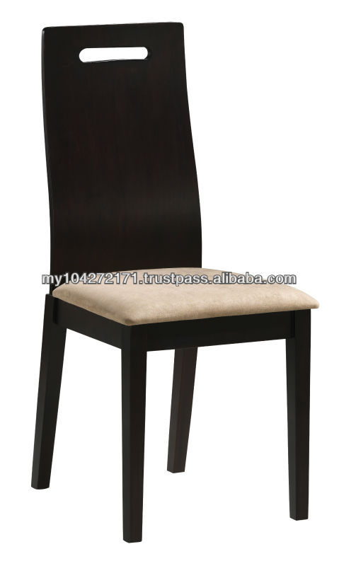 Samira Wooden Dining Chair with Cushion Seat
