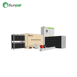 Industrial Solution 150KW Solar Panel Kit 150KW Solar PV System Sunpal