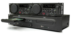 2U Double SCDJ-900 Professional CD/USB/SD/MP3 DJ player