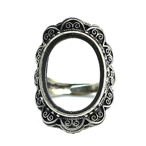 Beadsnice antique thailand sterling men ring base silver jewelry online ID 31760