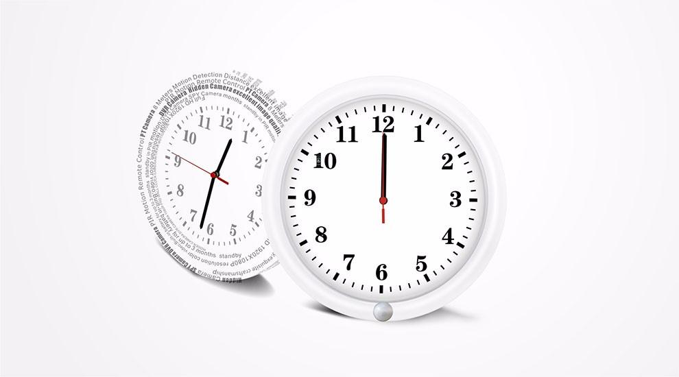 P2p Cam Live Support Wifi P2p Alarm Clock Wireless Home