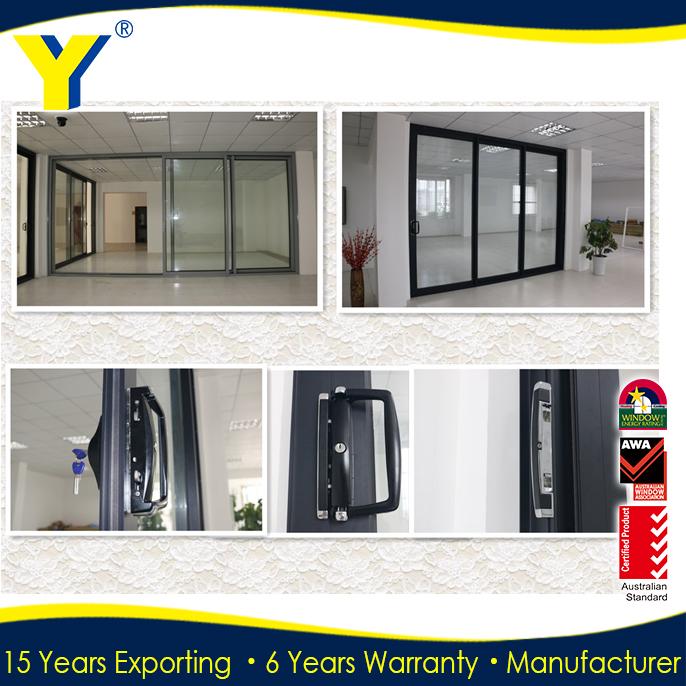 Balcony Sliding Glass Door With Door Lock From China Suppliers ...