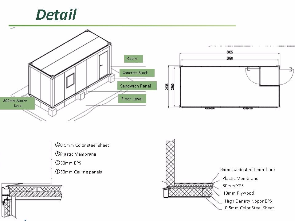 China prefab modular house shipping storage containers for Prefab columns
