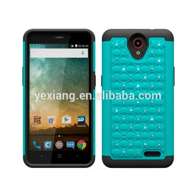 sale retailer 01b58 c1019 Luxury Combo Bling Diamond Crystal Star Cover For Zte Prestige N9132 Hybrid  Cell Phone Case - Buy For Zte Prestige N9132 Hybrid Cell Phone Case,Bling  ...