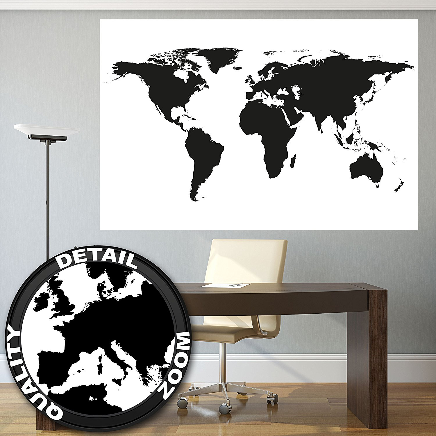 Buy great art xxl poster world map photo wallpaper vintage retro recommended for you great art xxl poster world map gumiabroncs Choice Image