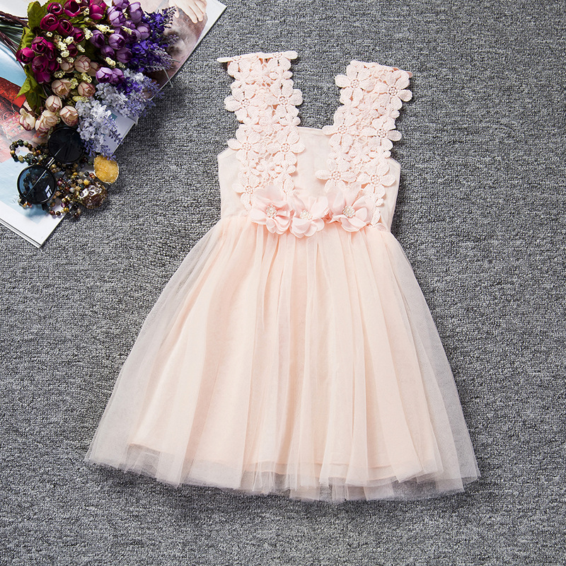 Wholesale Girls Children Lace Dresses Kids Cotton Ruffle Lace Baby Dress Buy Lace Dressesbaby Dresskids Dress Product On Alibabacom