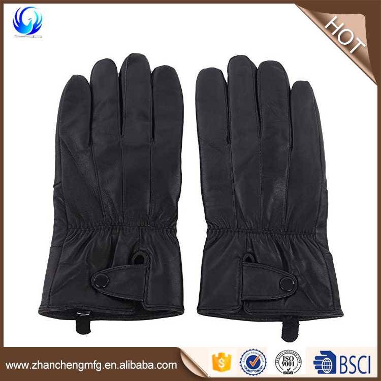 Reed Men's Genuine Leather Warm Lined Driving Gloves daily life gloves