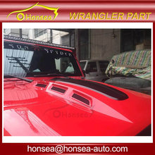 Wrangler Jk Engine Hood Plate Avenger Bonnet for Jeep Wrangler 07-15