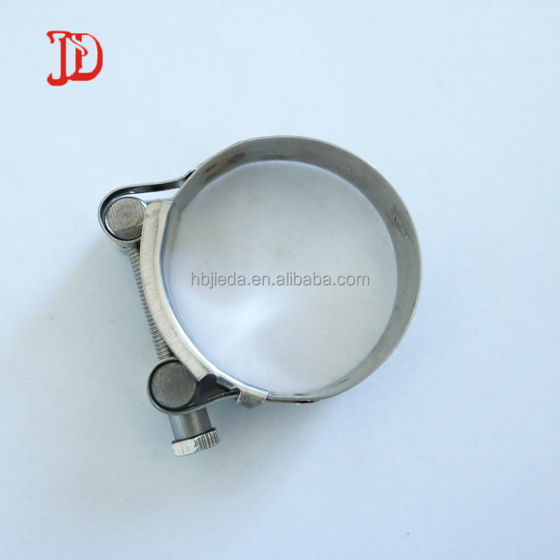 W4 stainless steel heavy duty with T Bolt hose clamp OEM available mark free