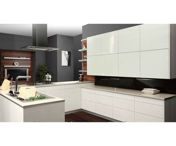 2018 NEW White Waterproof Lacquered glass Kitchen Cupboard, View Kitchen  Cupboard, Amblem Kitchen Cupboard Product Details from Hangzhou Amblem ...