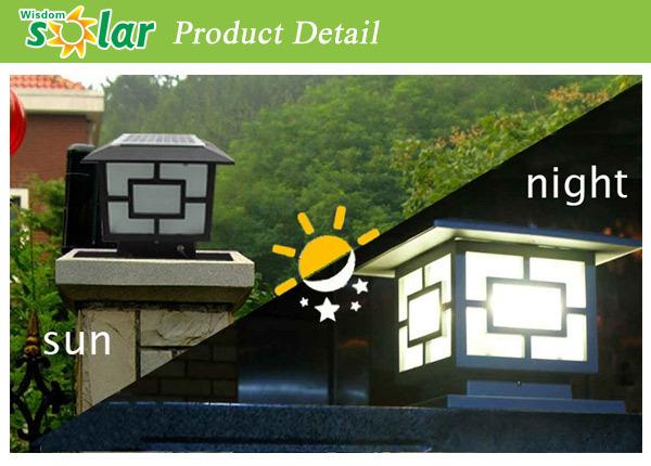 Fabricante de iluminaci n solar del jard n luz solar for Iluminacion solar jardin