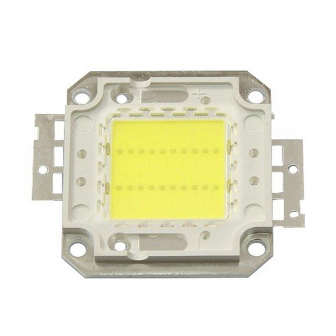 SRY-LED Bulbs High Power LED Chip Beads COB Beads 20W 30W 50W 70W 100W 3000K/6000K For Floodlight Spotlight Energy saving (Color : Warm white, Wattage : 20W)