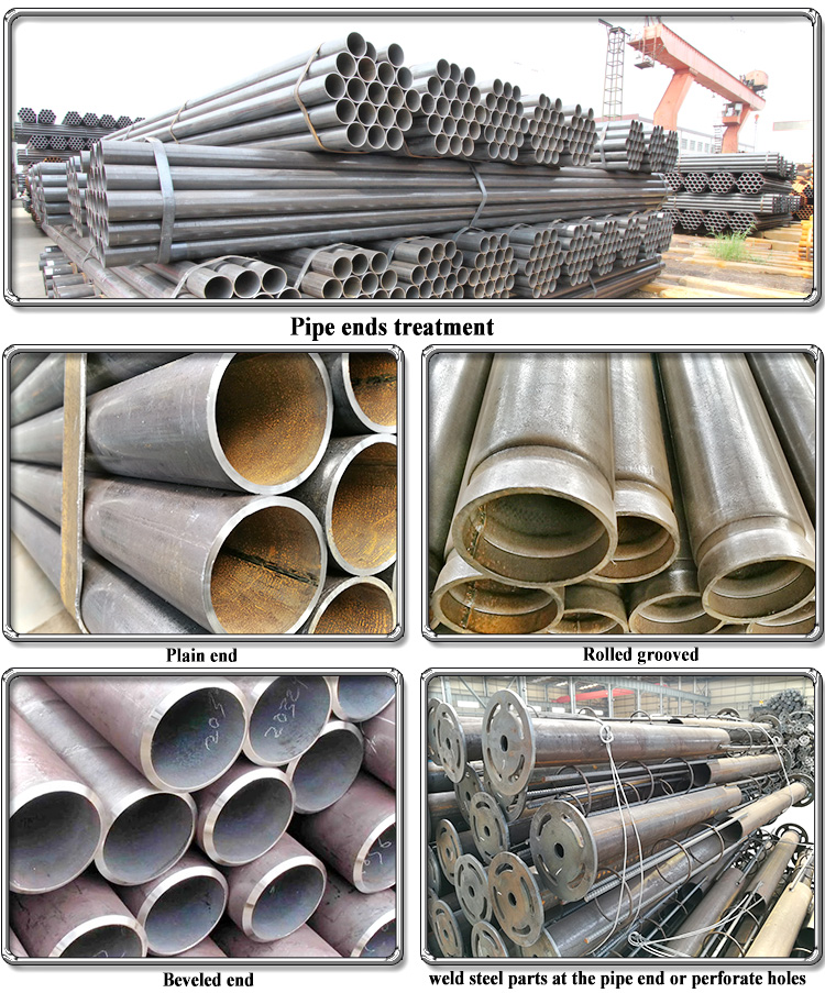 Black iron pipe specifications, schedule 10 carbon steel pipe, erw steel pipe