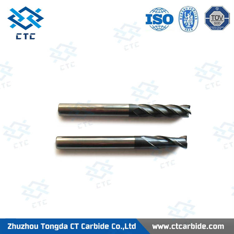 Professional micro diameter end mill carving tools for acrylic/tungsten carbide spiral end mill drill bits