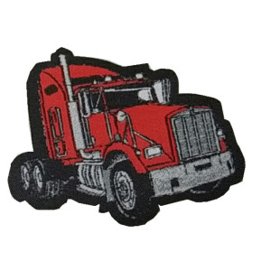 100% Embroidery Customer's Logo Thomas Locomotive Sublimation Wonder Woven Patch