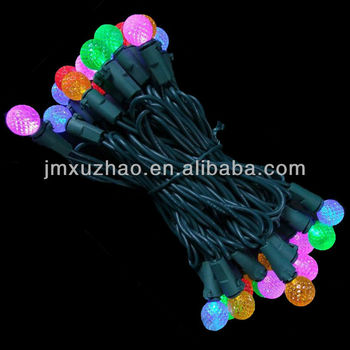 100l ul 120v string 3v bulb led christmas g12 commercial lights multi led berry outdoor lights