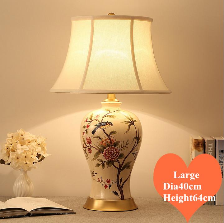 Uccello in ceramica lampada acquista a poco prezzo uccello for Lampade a led grandi