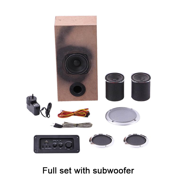 Kualitas Baik Sofa Furniture USB Sistem Musik Player Speaker