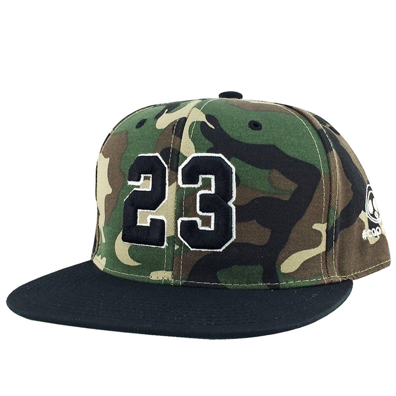 b81f52e3f512e6 Number  23 Woodland Camo White Black Visor X Jordan Lebron Snapback Hat Cap