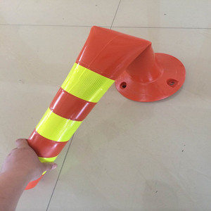 TPU Plastic Traffic Bollard Flexible Delineator Post