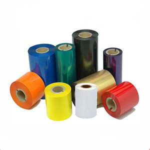 Good quality colorful Premium compatible Barcode label / copper paper / clothing tag / Wax / Resign Printing Ribbon
