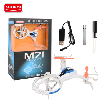 Zhorya rc flying mini drone quadcopter without camera
