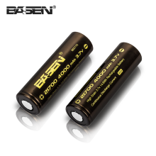 Basen 4000mah 30A 3.7V 21700 20700 Rechargeable lithium battery for box mod mechanical vape