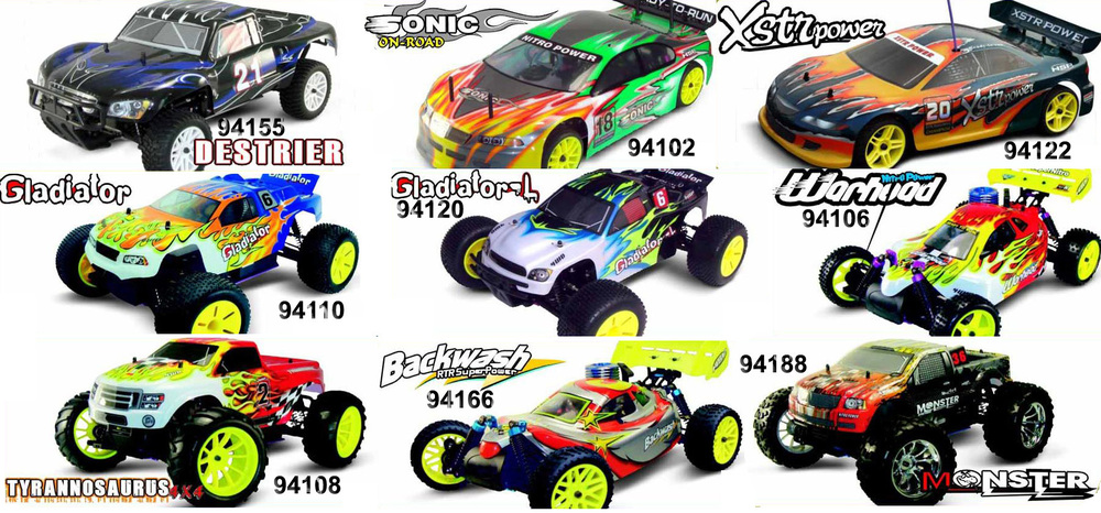 hsp high speed rc car and parts1/24 1/16 1/10 1/8 1/5scale rc hoby car
