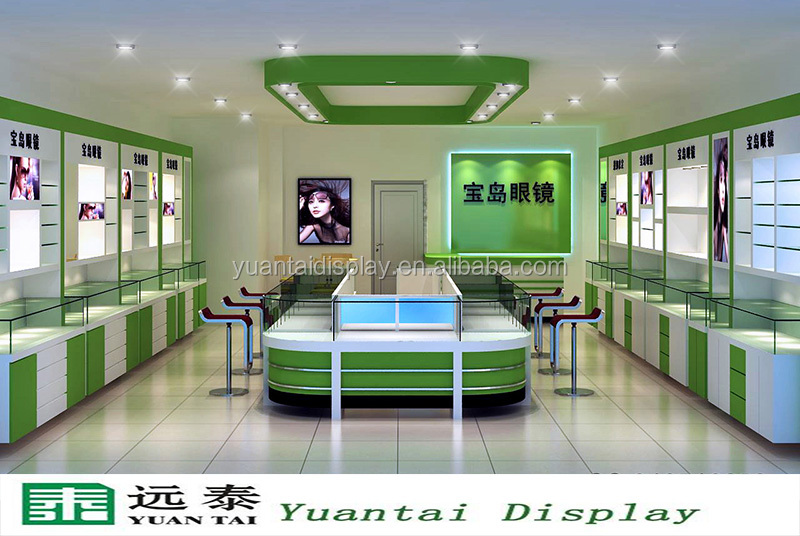 Modern Glass Display Cabinet And Showcase Furniture For Sunglasses