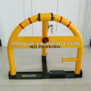 570mm high Heavy Duty Construction Semi Automatic Parking Barrier