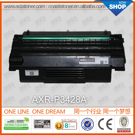 P3428A toner cartridge used for xerox workcentre for xerox fuser assembly for xerox photocopier