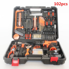Electric hardware home repair household hand tool kit