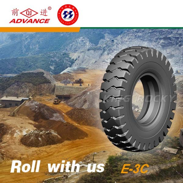 imported E-3C otr truck tires 13.00-24 13.00-25 from china