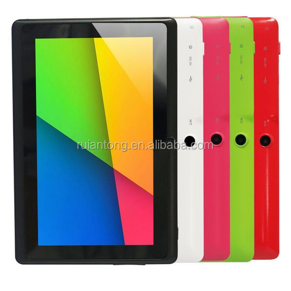 "7 polegada IPS Tela Sensível Ao Toque 1280*800 de 7 polegadas Quad Core 8 GB 7 ""WIFI Bluetooth 7 MEADOS Q8 Android Inteligente Tablet PC"