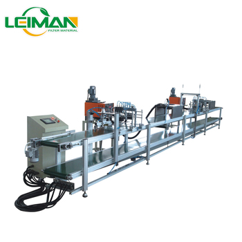 PLSS-8 Square type air filter double automatic glue injection machine for air filter