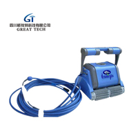 Swimming pool automatic suction machine controller robot cleaner dolphin sprite