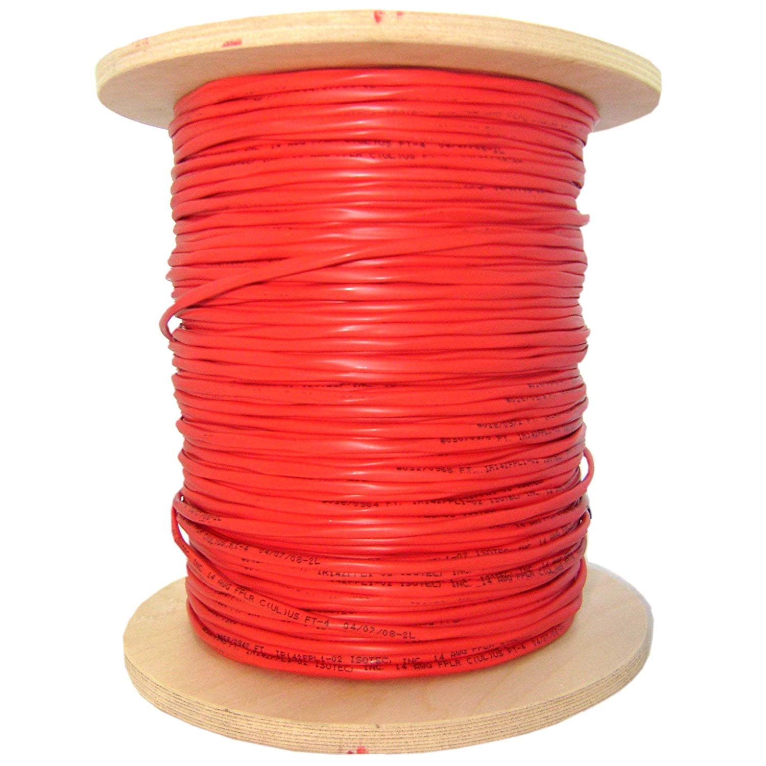 Black Singlemode 9//125 QualConnectTM 6 Strands Fiber Indoor//Outdoor Fiber Optic Cable Plenum Rated Spool 1000ft