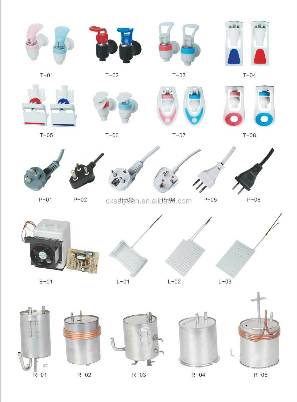 water dispenser spare parts, View water dispenser spare parts ...
