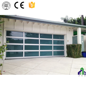 Aluminum Glass Garage Door Design Glass Roll Up Doors