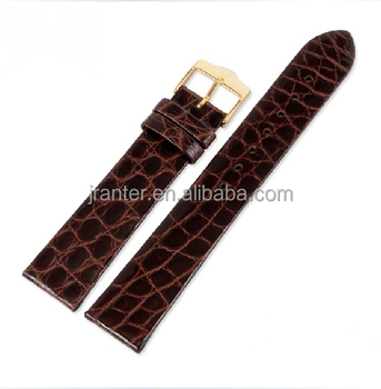 2015 Luxury Watch Belt for Apple Watch 100% Genuine Alligator Leather