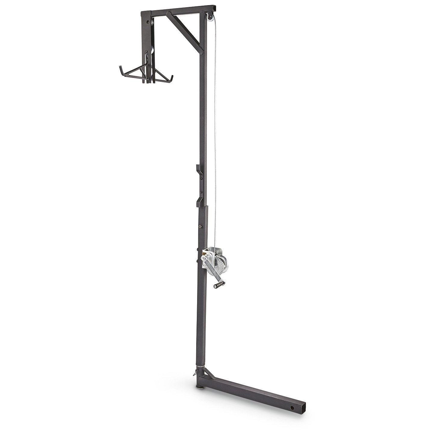 Guide Gear Deluxe Deer Hoist and Gambrel, Swivel Hitch Lift System